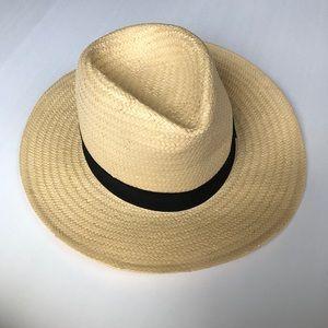 San Diego Hat Company Straw Fedora Panama Hat